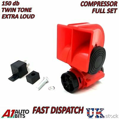Air Blast Klaxon 12 V 150dB Camion Voiture RV Train Bateau Fort Camping Car