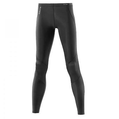 Skins Women's A400 Active Compression Long Tight: Black/Black