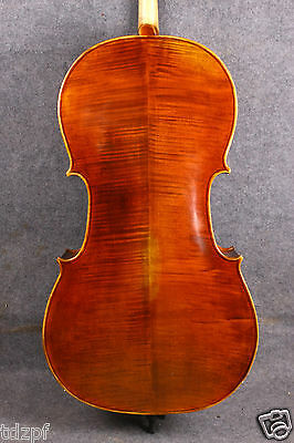 new cello 4/4 Top grade full size Cello Solid wood Powerful Sound hand made #615