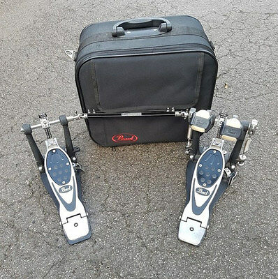 Pearl P-2002C Eliminator Double Bass Drum Pedal USED! RKPDD040217