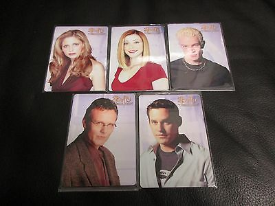 2017 Buffy The Vampire Slayer Ultimate Collector's Set Series 2 5 Card Metal Set