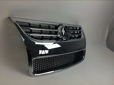 for Volkswagen VW Touareg 2008-2010 front mesh vent bar grill grille plate