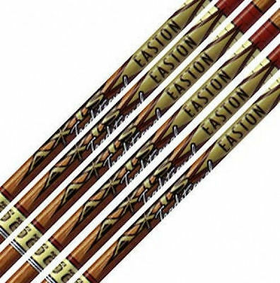 Easton Axis Traditional 340 Raw Shafts w/HIT Inserts, 1 Dozen