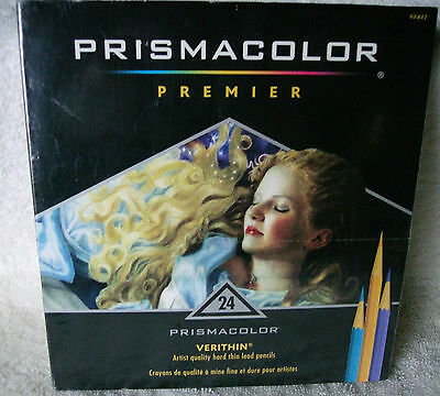 Prismacolor® Verithin® Colored Pencils, Assorted 24/Pk ~ *NEW*