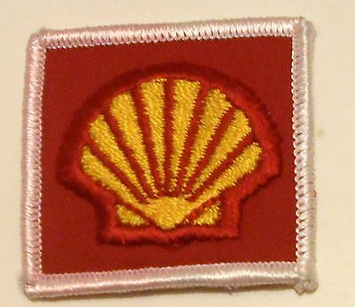 """Shell Gas Patch Embroidered Herald Oil  2"""" Racing"""