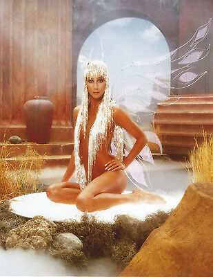 Cher 8 X 10 Photo With Ultra Pro Toploader