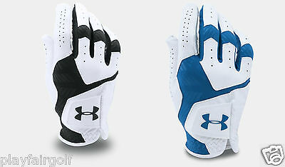 New - Under Armour 2017 UA Herren CoolSwitch Golfhandschuh - Cabretta Leder