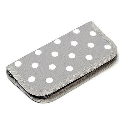 NEW | HobbyGift MR4701E/137 | Crochet Hook Case Empty Grey Spot | FREE SHIPPING