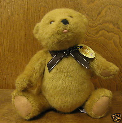 "Gund Plush #58683 BEAR, jointed 11"" plush, mint/tags NEW from our Retail Store"