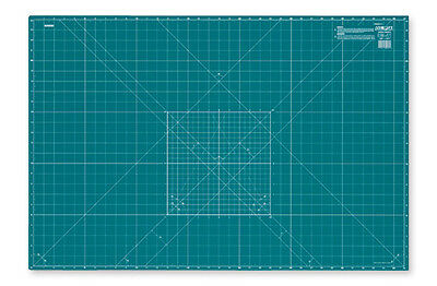 Olfa CM-A3 | Self-Healing 2-Sided Cutting Mat Imperial/Metric Grid | 430 x 300mm