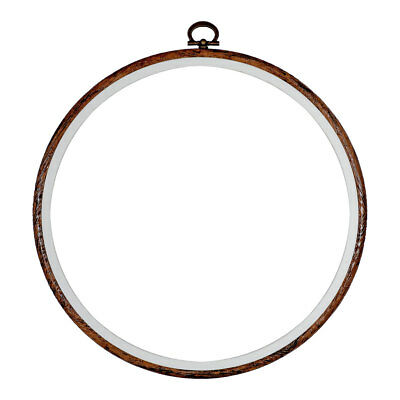 Stitch Garden | Flexi Hoop Round | Wood Grain | H900