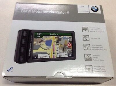 BMW Navigator V Motorcycle Gps With Cradle    Nav 5