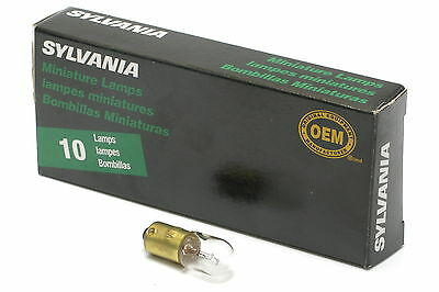 Sylvania 757 Miniature 28V Incandescent Bulb, 10-pack