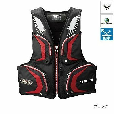 SHIMANO Nexus Floating Washable Vest VF-142N Black L from Japan New