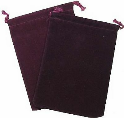 Cloth Dice Bag Big Chessex Burgundy Bag di Cloth per Dice Large Burgundy