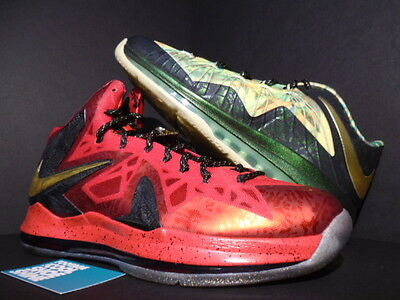 b44ff2358c2 Nike Air Max LEBRON X 10 P.S. ELITE CELEBRATION CHAMPIONSHIP PACK MVP GOLD  13
