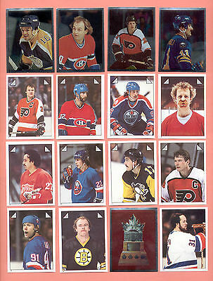 1979-2014 NHL Hockey Panini Stickers & 1981-1989 O-Pee-Chee Singles Available