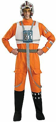 Rubies Costume Star Wars A New Hope X-Wing Pilot Orange One Size Standard
