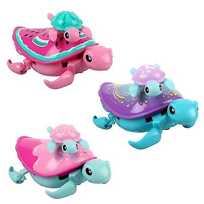 Little Live Pets Swimstar Lil Turtle & Baby Walking & Swimming Toy Pet Series 4