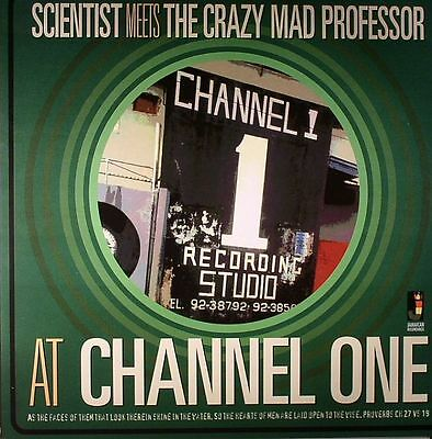 SCIENTIST meets THE CRAZY MAD PROFESSOR - At Channel One - Vinyl (LP)