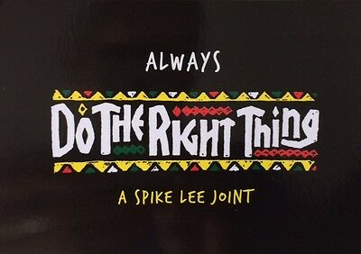 DO THE RIGHT THING - Spike Lee - LOT 5 CARTES POSTALES (Edition 2016)