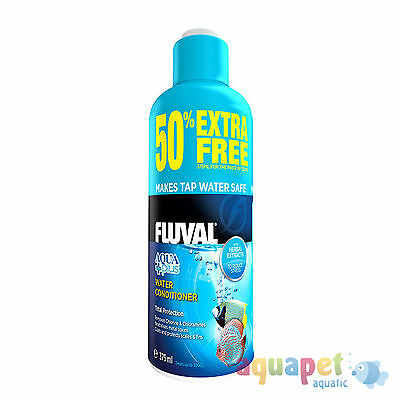Fluval Aqua Plus Water Conditioner 250ml + 50% Free - 375ml