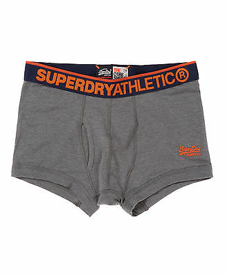 New Mens Superdry Athletic Core Shorts Dark Marl