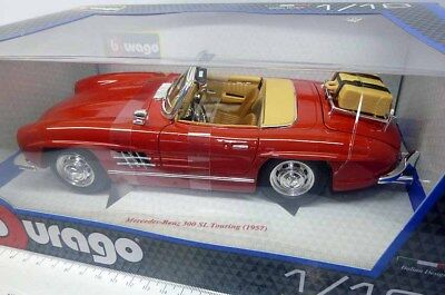 12049R Bburago 1:18 Mercedes Benz 300 SL Touring  (1957) rot red