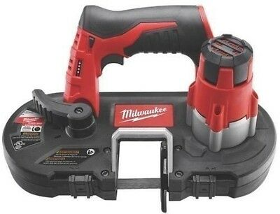 New Milwaukee 2429-20 M12 12 Volt Cordless Portable Band Saw Kit Sale  & Blades