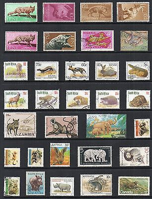 ANIMALS Thematic STAMP COLLECTION Mint Used REF:TS159