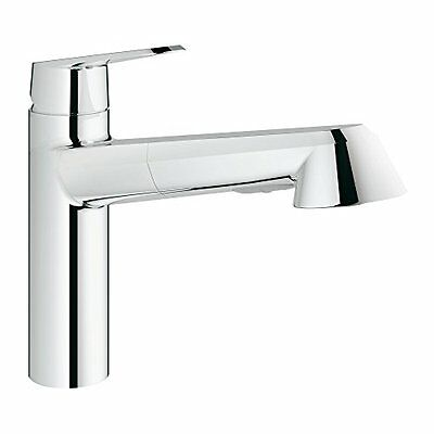 NEW Eurodisc Cosmopolitan Single-Handle Pull-Out Kitchen Faucet