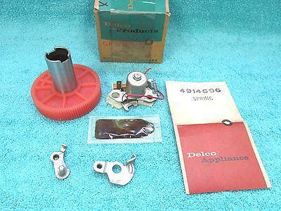 1965 Oldsmobile Passenger ( Except F-85 ) Wiper Motor Repair Kit  Nos Delco  217
