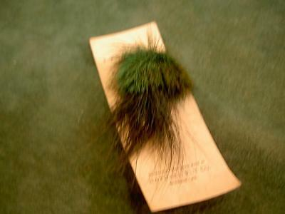 NATURAL FLY CO. VINTAGE OLD FISHING LURE ON THE CARD BAIT TACKLE tackle box
