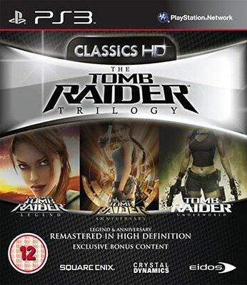 Tomb Raider Trilogy HD (PS3) [New Game]