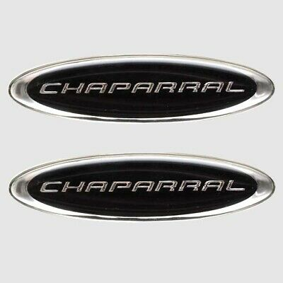 Boat OEM Vinyl Decal | Chaparral Black / Silver (Pair)