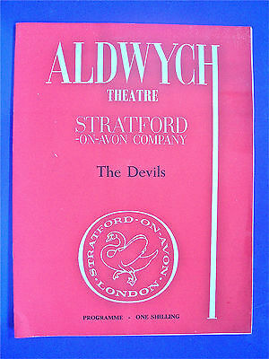 The Devils. Aldwych Theatre 1961. IAN HOLM,DIANA RIGG,CLIVE SWIFT,DOROTHY TUTIN