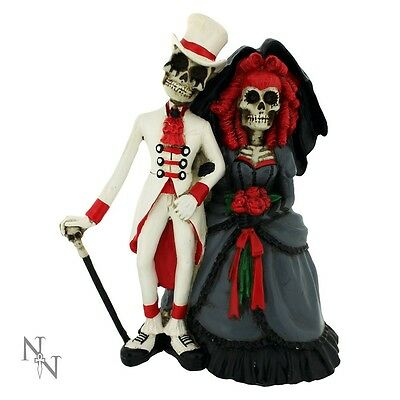 Nemesis Now,Day of the Dead - Forever by Your Side Wedding Cake Topper.