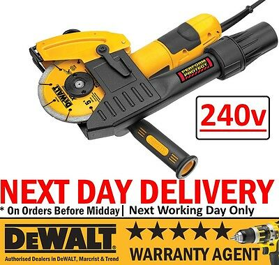 DeWALT DWE46105 1400W 240V 125MM Professional Mortar Raking Angle Grinder Kit N