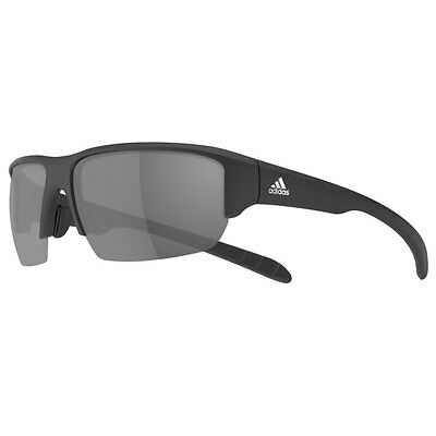 44% OFF RRP Adidas Eyewear Kumacross Halfrim Sunglasses - Matt Black