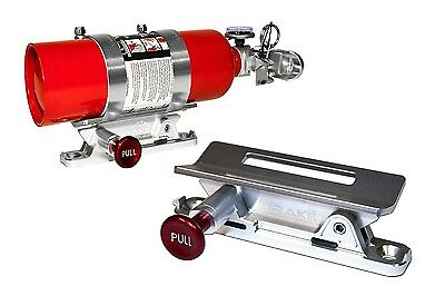 Fire Extinguisher Mount SILVER Ford Falcon and Classic Car Safety  SCOTT DRAKE