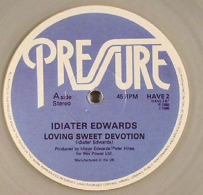 "EDWARDS, Idiater - Loving Sweet Devotion - Vinyl (clear vinyl 12"")"