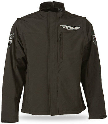Fly Racing Black Ops Convertible Riding Jacket - Motocross Dirtbike Offroad