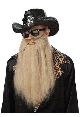 ZZ Top Sharp Dressed Man Costume Beard Accessory