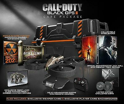 Call of Duty: Black Ops II 2 - CARE PACKAGE [Xbox 360, Collector's Edition] NEW