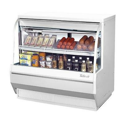 Turbo Air - TCDD-48-2-L - 48 in Low Profile Refrigerated Deli Case