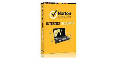 NIB - Symantec Norton Internet Security 2014 Retail Box -1 PC - 93772