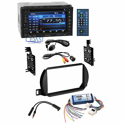 Planet Audio Car Stereo 2 Din Dash Kit Bose Harness for 2002-04 Nissan Altima