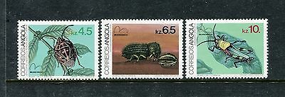 Angola 666-668, MNH, 1983 Insects,  Beetles. x23870