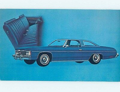 Unused 1974 car dealer ad postcard CHEVROLET IMPALA CUSTOM COUPE o8103