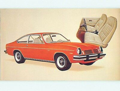 Unused 1974 car dealer ad postcard CHEVROLET VEGA GT HATCHBACK COUPE o8148-22